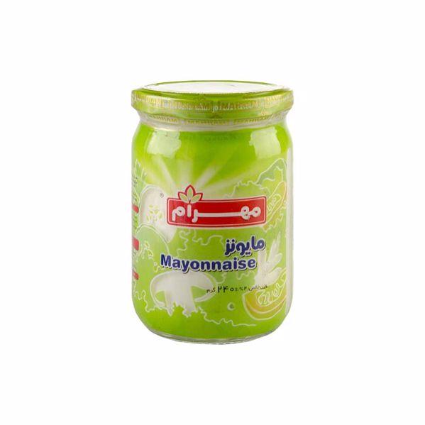 سس مهرام شیشه 240 گرم