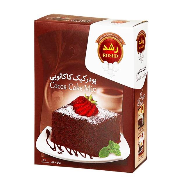 پودر کیک اماده کاکائویی رشد