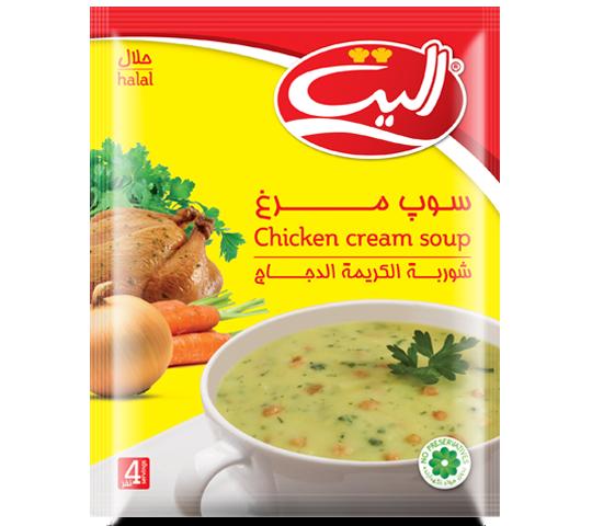 سوپ مرغ الیت