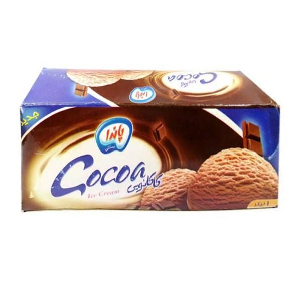 بستنی 1لیتری کاکائویی پاندا
