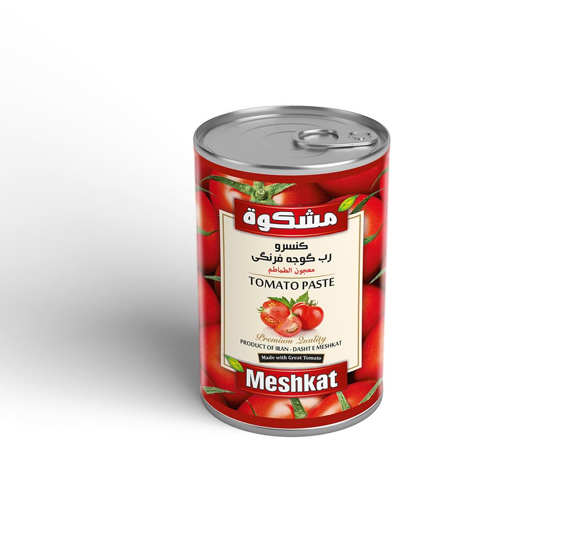 کنسرو رب گوجه فرنگی 400گرم مشکوة