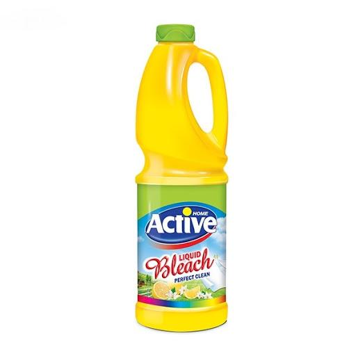 مایع سفید کننده معطر زرد اکتیو 1 لیتری