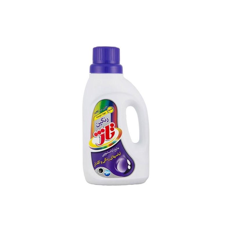 مایع رنگی لباسشویی تاژ 1 لیتری