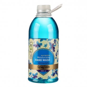 مایع دستشویی2لیتری شفاف آبی اسپرینگ شون