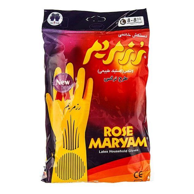 دستکش رز مریم دارای  سایز S-M-L