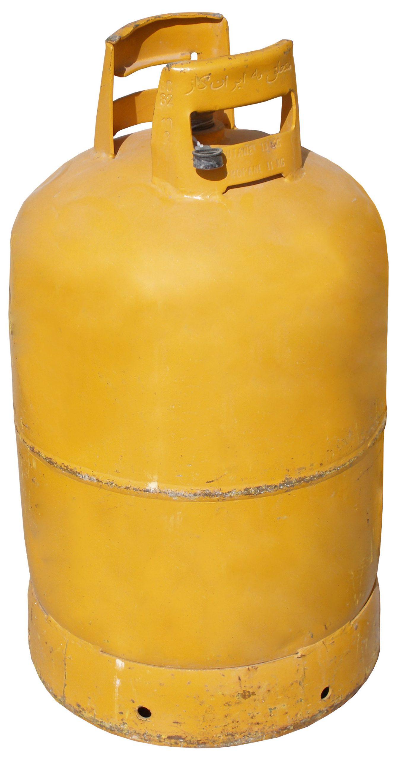 شارژ سیلندر گاز ایران گاز (زرد)