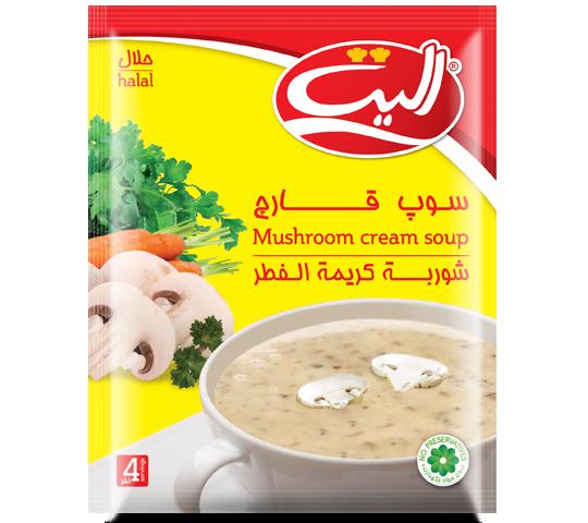 سوپ قارچ الیت