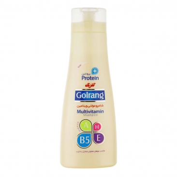 شامپو مولتی ویتامین گلرنگ ۹۰۰ میلی مناسب موهای چرب