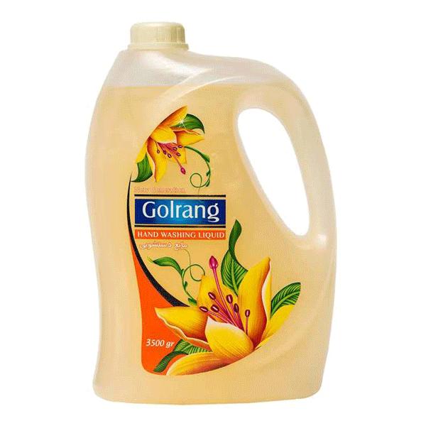 مایع دست 4 لیتری گلرنگ