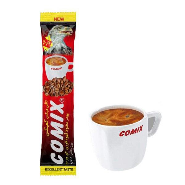 پودر قهوه فوری کمیکس