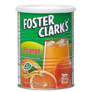 پودر شربت پرتقال فوستر کلارکس