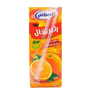 آبمیوه پرتقالی پاکتی 250میلی یونیکا