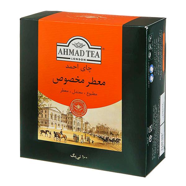 چای تی بگ معطر100عددی احمد