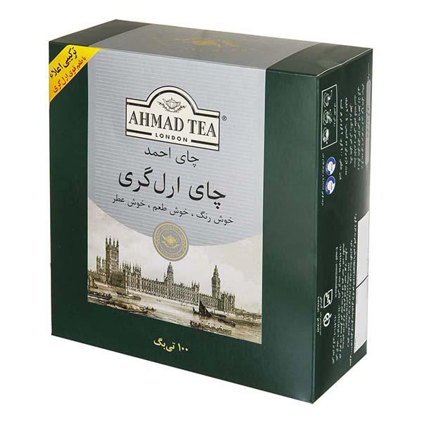 چای تی بگ ارل گری100عددی احمد