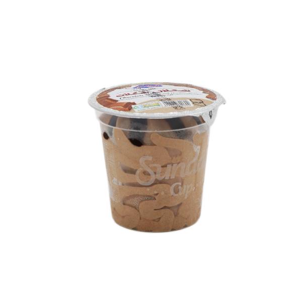 بستنی ساندی کاپ شکلاتی پاندا