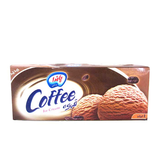 بستنی 1 لیتری قهوه پاندا