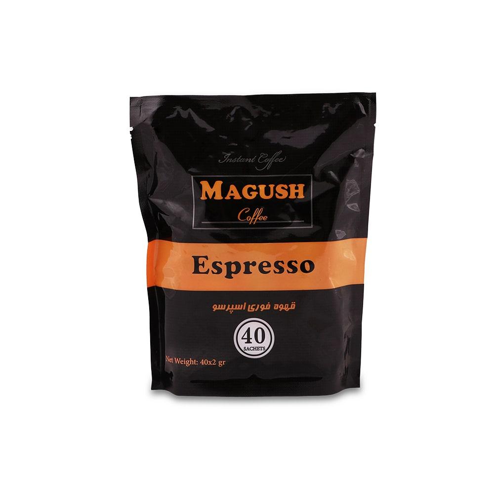 قهوه فوری اسپرسو1عددی ماگوش